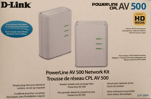 D-Link Powerline AV500 - Network Extender
