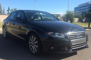 2012 Audi A4 2.0T with NEW winter tires, Heated seats & Sunroof