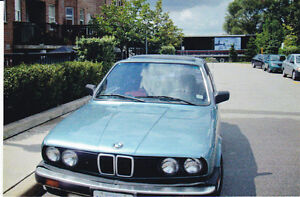 1984 BMW 325e great conditions please call (647)9553091