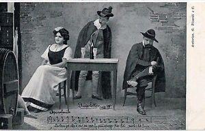 GIUSEPPE-VERDI-RIGOLETTO-Opera-Lirica-PC-Circa-1900-Rare-Opera-THEATRE-2