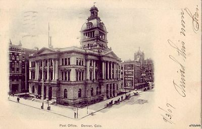 Denver  Co Post Office 1907 Pre 1907 Publ   Colorado News Co   No  A1204