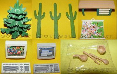 Playmobil Baum, Kaktus, Polizei Pult, Monitore & Holzbesteck auswählen #2 (Baum Monitor)