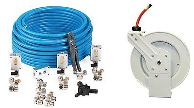 Rapidair Maxline M3800 Compressed Airline System 12x100 Ft With Hose Reel