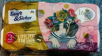 Toilettenpapier DM Mops Limited Edition