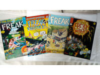 Furry Freak Brothers comics , English editions.
