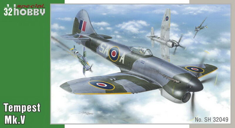 Special Hobby 1/32 WWII British Hawker Tempest Mk.V