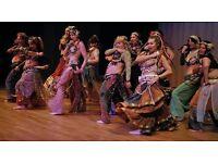 Belly Dancing class at Eden Blue
