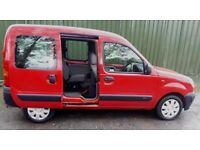 Renault Kangoo 1.2 petrol wheelchair accessible vehicle only 26,000 miles excellent condition