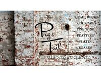 SOUS CHEFS & CDP Required for The Pig & Tail, Jewellery Quarter, Birmingham