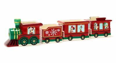 Mickey Mouse and Friends Christmas Train ceramic Bowl set of 4 N:1789