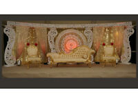 WEDDING STAGE FOR HIRE. WEDDINGS. BACKDROP. fLOWER BOARD FROM £600.00