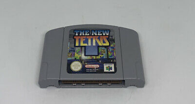 Nintendo 64 N64 Game The New Tetris - Cart Only - Good Condition - PAL
