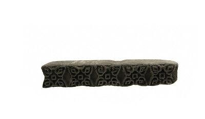 Antique Bunta Stamped Wood Printing Fabric Textile Batik Rajasthan India NP17B15