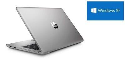 HP Notebook silber 8GB RAM 1TB WLAN DVD Brenner HDMI Webcam matt Windows10 Pro  8 Gb Dvd
