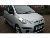 2010 HYUNDAI i10 CLASSIC 5DR HATCHBACK - 32000 MILES / £30 VED COSTS / TIMING CHAIN ENGINE