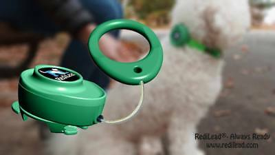 (RediLead - 4' retractable leash that attaches to your dog's collar or harness )