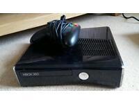 Xbox 360 slim hardley been used