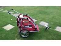 Child cycle trailer buggy / off road push chair