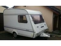 2 berth compass 340/2 touring caravan