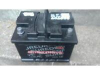 Diesel 12 volt battery