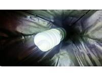 2 x photograph lighting softboxes with easy to carry bag in great condition.