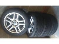 BMW Alloy wheels and winter tyres