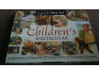 Children's spectacular 24 CD box set