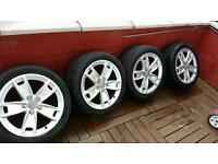 """Audi alloys wheel set 17"""" 5x112 ET56"""