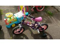 Children's bike (pink)