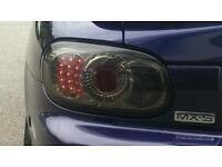 Mazda MX5 Smoked LED Tail Lights