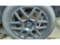 16 inch alloys Volkswagen Passat golf polo