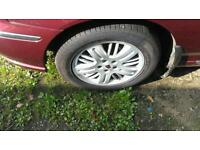 Rover 75 ,wheels and tyres
