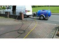 Diesel jet wash bowser diesel engine v g c
