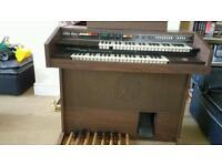 Electric keyboard organ