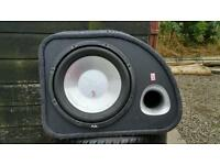 1200watt Car subwoofer very loud, near new