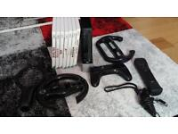 Wii bundle with controller hunchback and 7 games + accessories