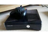 Xbox 360 slim console, hardley been used!