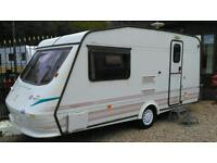 1997 elddis vogue top of the range 2 berth end bathroom with full awning