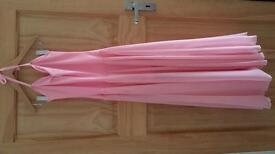 Pink dance dress