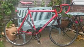 Brilliant Graham Weigh Aluminium/Carbon Road Bike - Large 60cm with Shimano Sora and FSA Kit