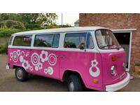7 seater microbus baywindow campvervan tax exempt