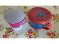 Baby food storage containers x2. Excellent condition