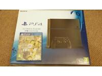 PS4 1TB with Fifa 17 new and sealed