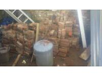 Free bricks from chimney