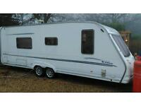 Sterling elite searcher fixed bed twin axle with motor mover 2005 v g c