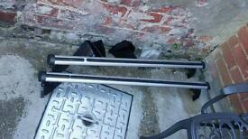 Genuine ford fiesta roof bars rails