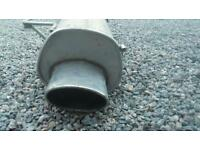 Clio 172 stainless steel exhaust