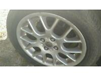 Mg/rover alloys good tyres