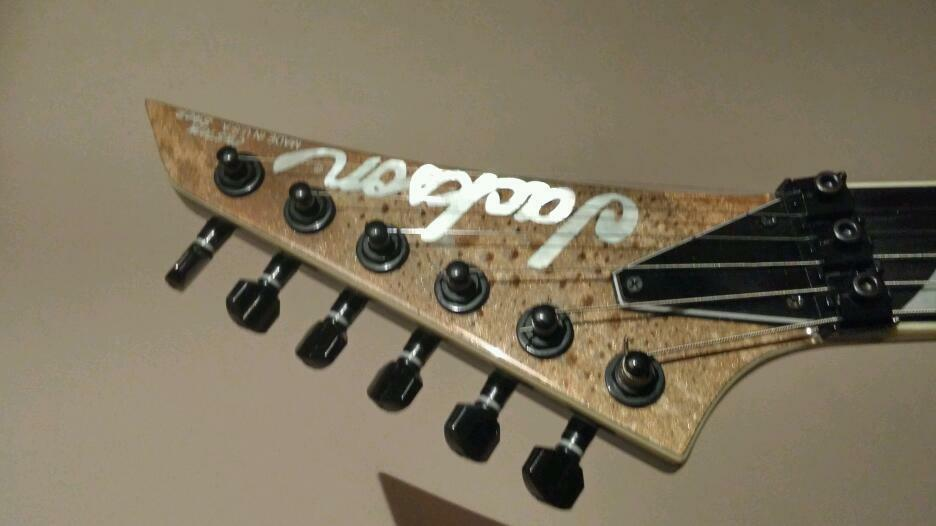 fs jackson kelly custom shop reduced sold guitars. Black Bedroom Furniture Sets. Home Design Ideas