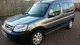 *1 OWNER FROM NEW* 2008 Peugeot Partner Escapade 1.6HDI Diesel Estate - like Berlingo Multispace